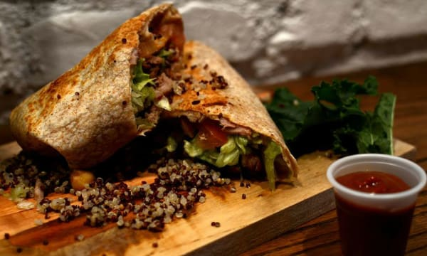 Sample catering from Quinoa Kitchen