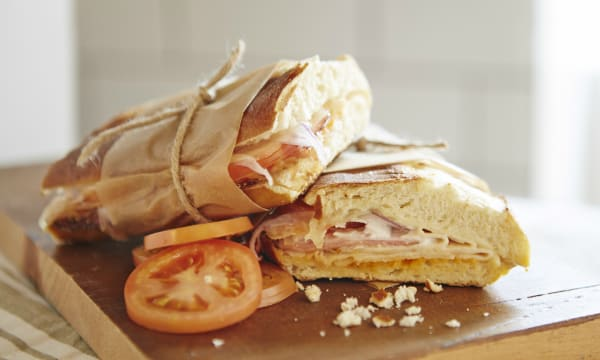 Sample catering from The Panini Republic