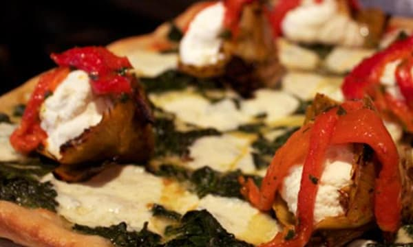Sample catering from Nonna's L.E.S. Pizzeria