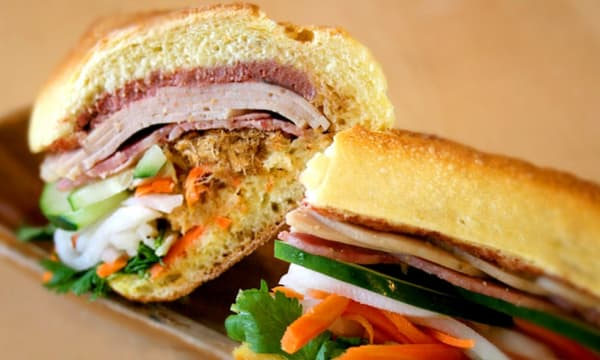 Sample catering from Banh Mi Zon