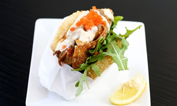 Sample catering from KoJa Kitchen San Mateo