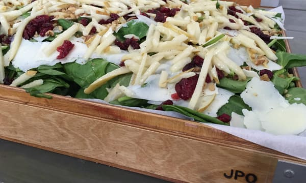 Sample catering from JPO Concepts, Inc.