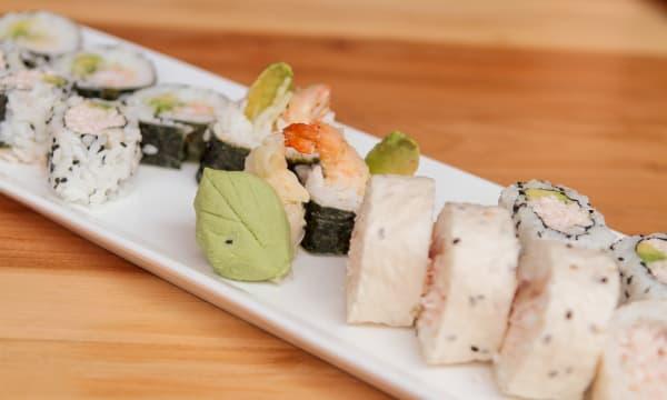 Sample catering from Arashi Sushi