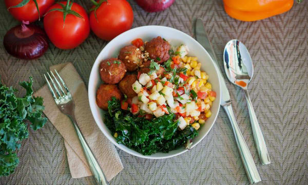 Sample catering from Kaya Street Kitchen