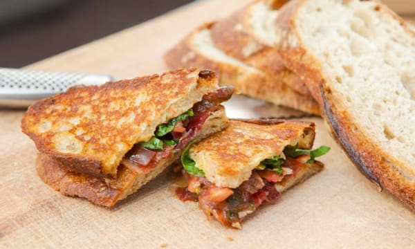 Sample catering from GrilledCheezGuy