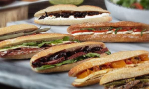 Sample catering from Perfect Picnic