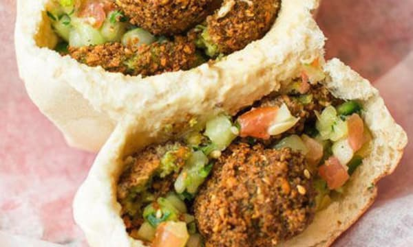 Sample catering from Ba'al Cafe and Falafel
