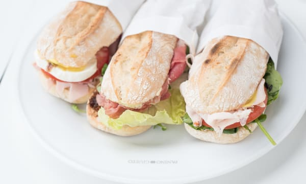 Sample catering from Panino Giusto