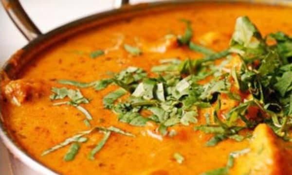 Sample catering from Taj Palace Indian Restaurant