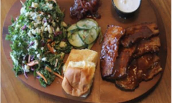 Sample catering from Hiatus Urban Barbeque
