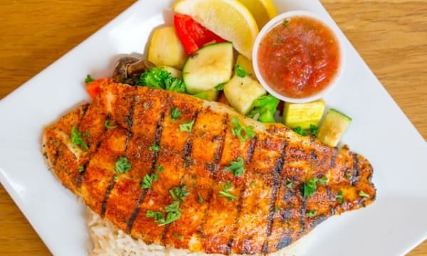 Sample catering from Seasalt Fish Grill