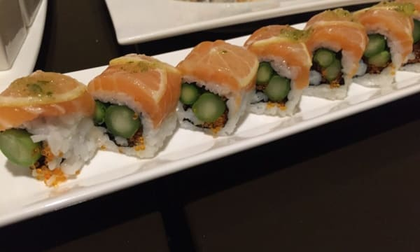 Sample catering from Arashi Sushi