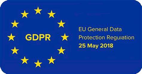 Carbon neutral website and lifestyle with carbon offset - Privacy Policy - GDPR logo