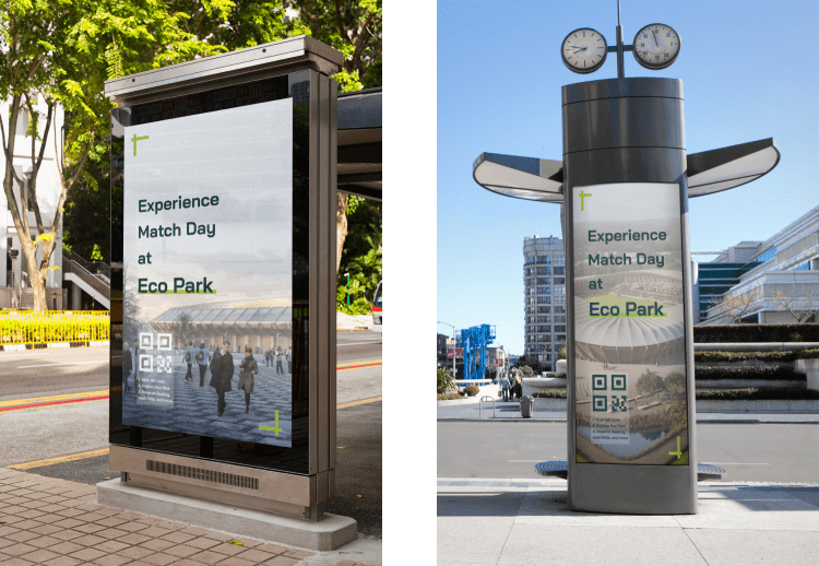 Outdoor Ad Mockups for Forest Green Rovers FC