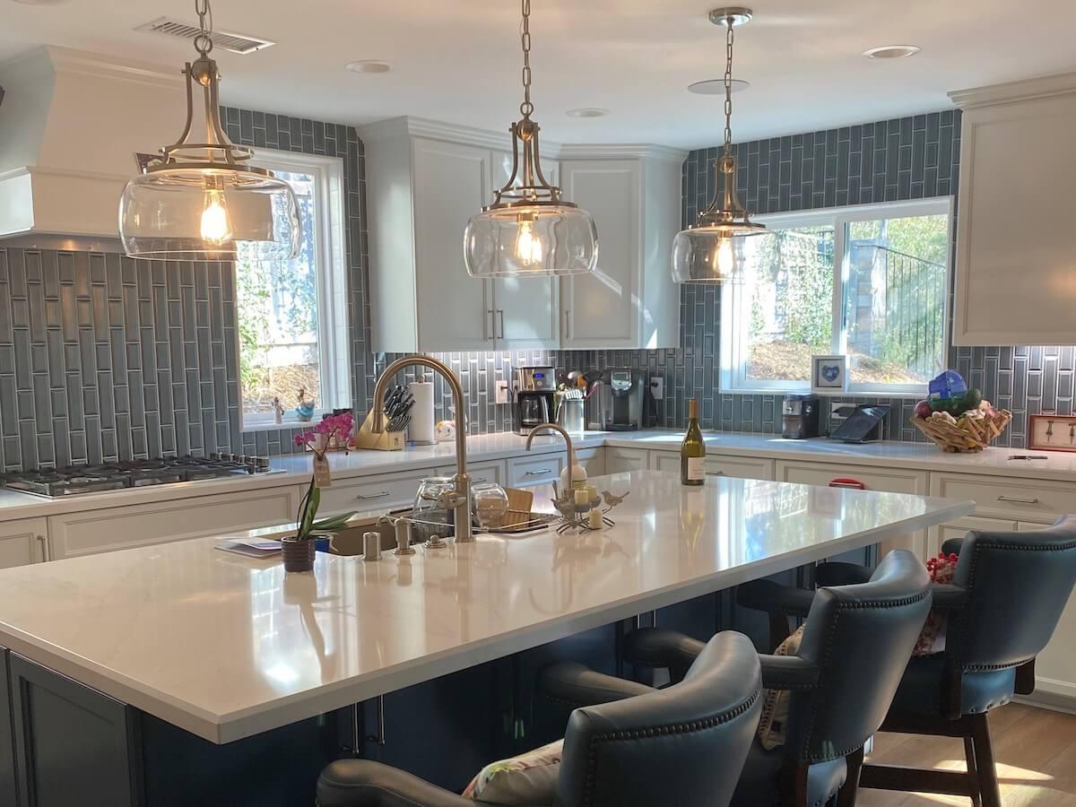 Modern Kitchen & Living Room Upgrade