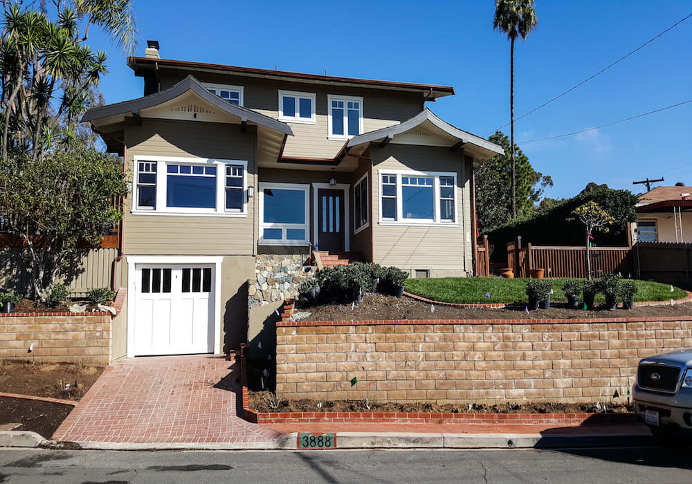 image of Craftsman-style home in San Diego
