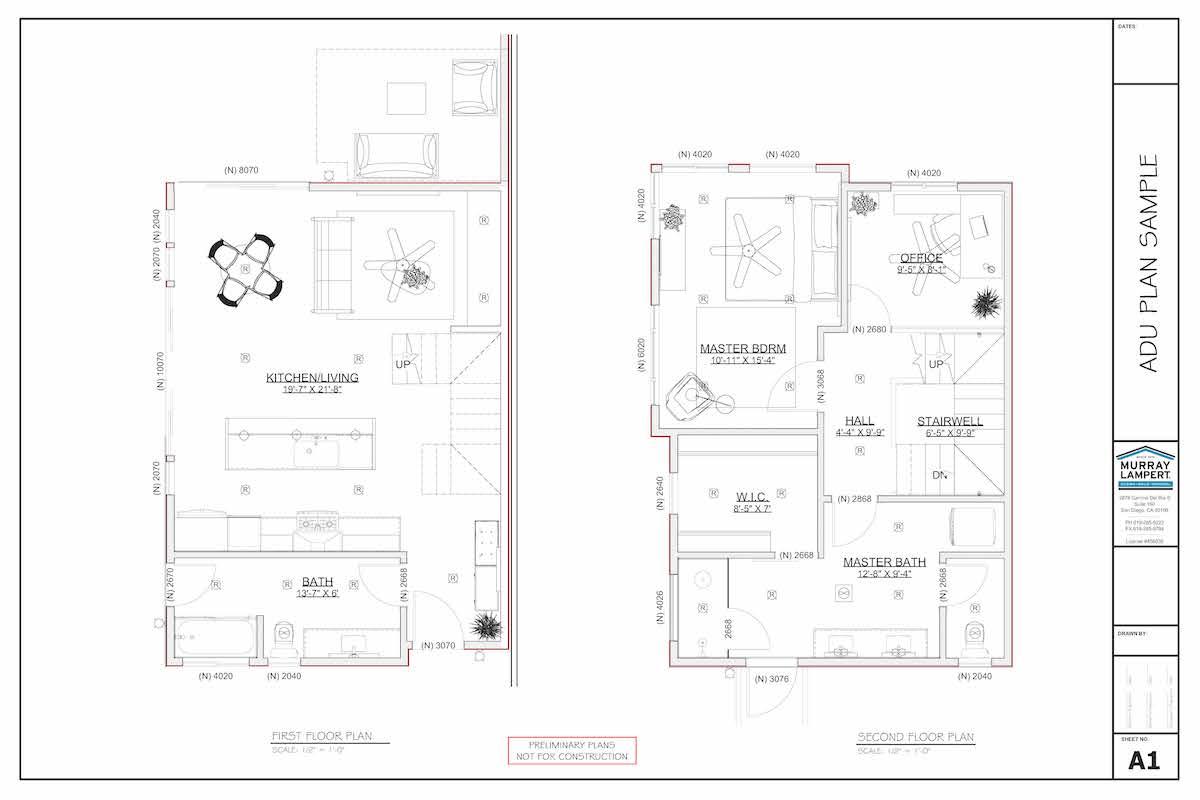 image of adu floorplan blueprint
