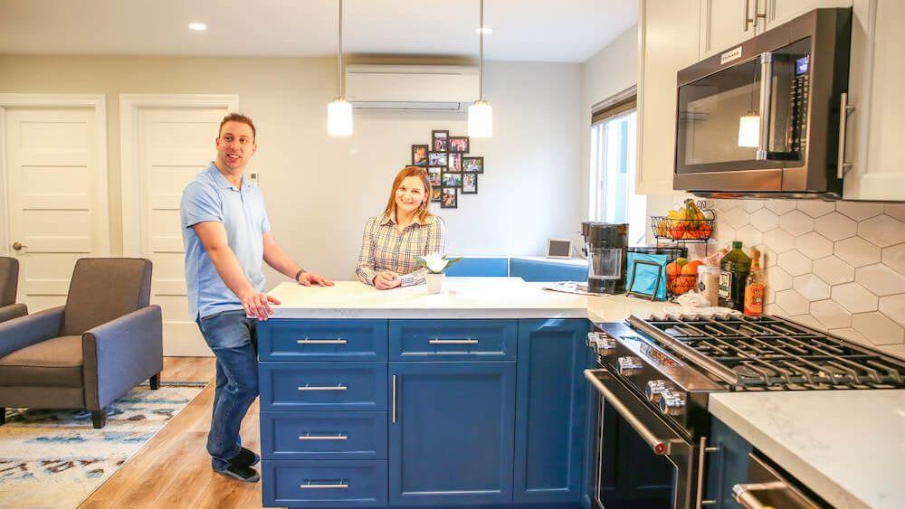 image of casita adu kitchen