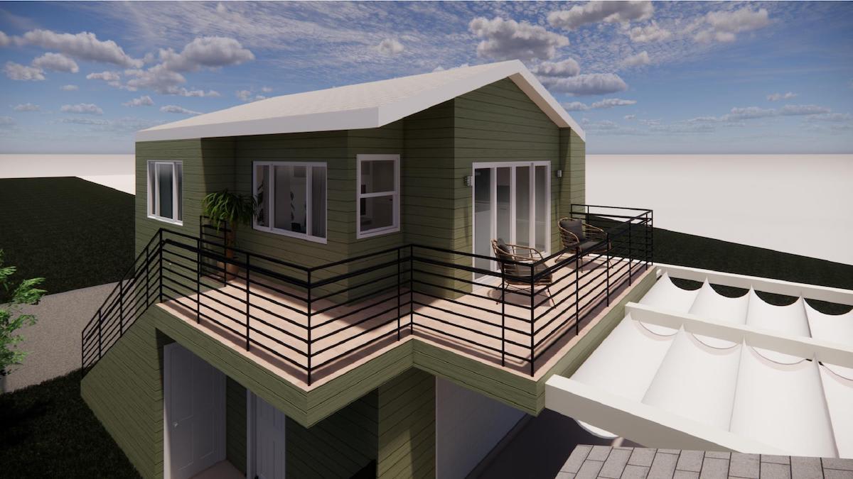 image of adu exterior rendering