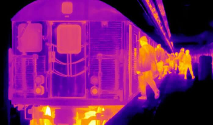 Θερμικές Κάμερες Σταθμοί Μετρό