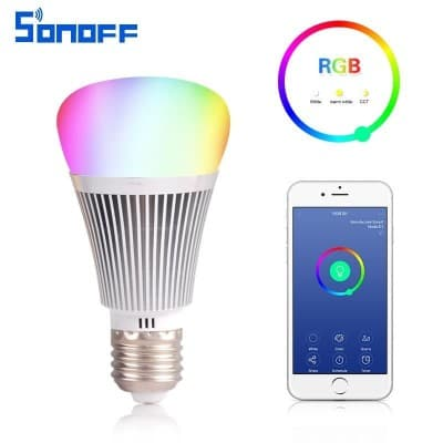 Sonoff B1 E27 6W RGB Dimmable Smart Lamp