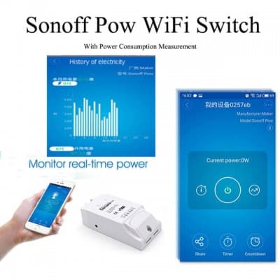 Sonoff POW R2 Power Monitoring WiFi Smart Switch