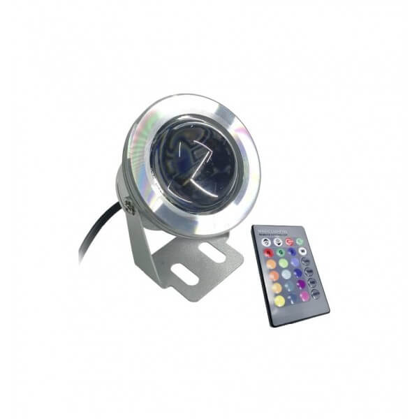 Waterproof LED SPOT 10W 12Volt RGB for Pool and Garden