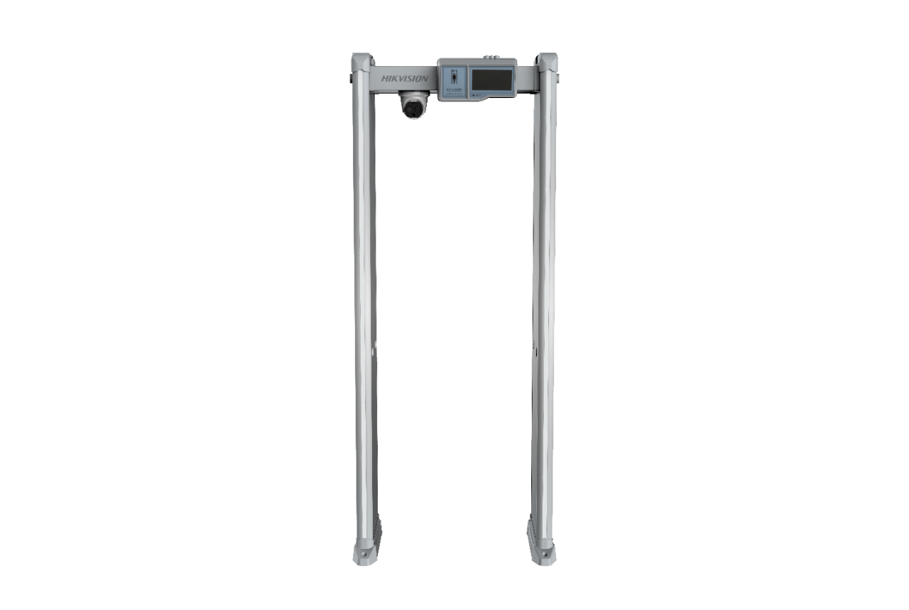 Metal Detector Gate with Fever Detection