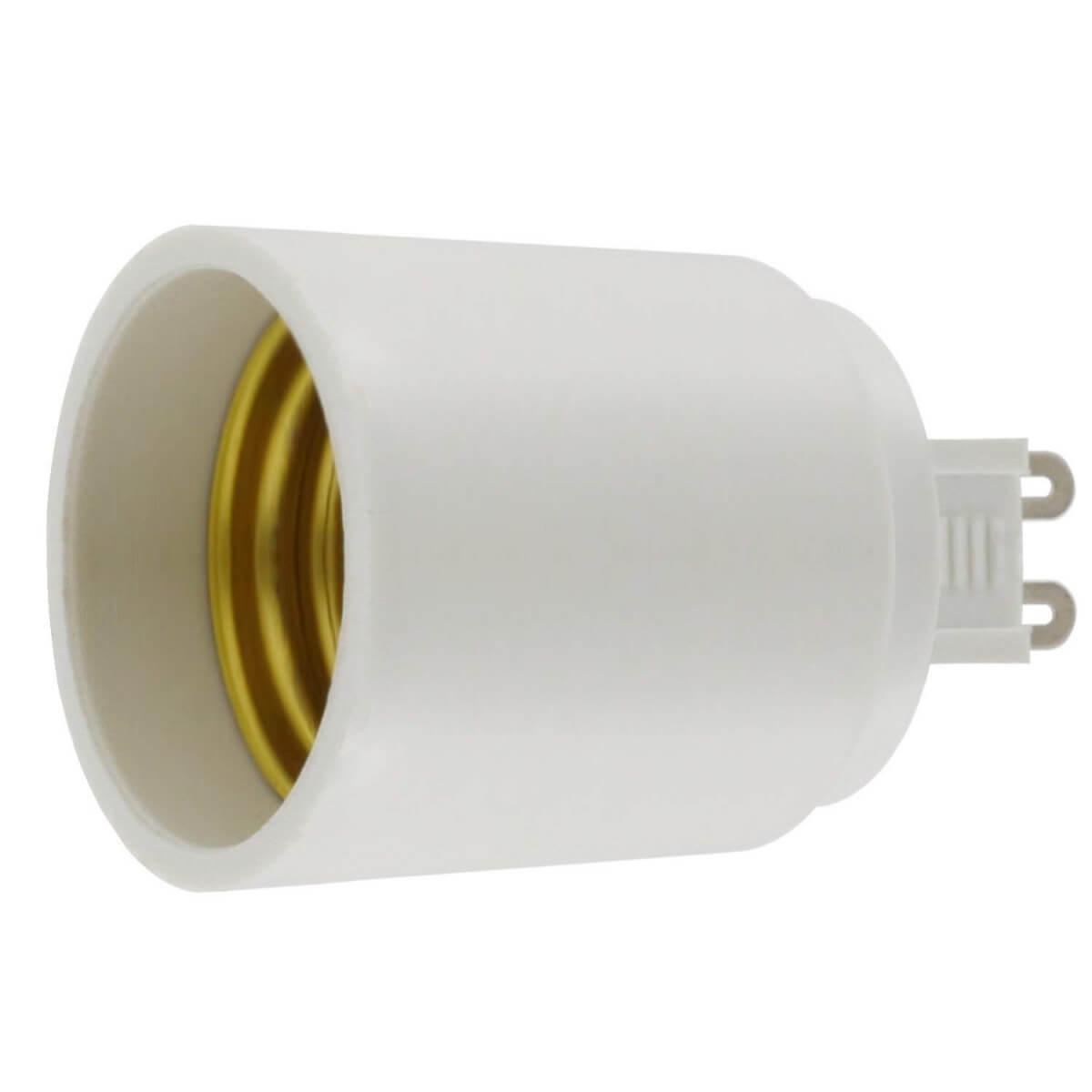 Πλαστικός Αντάπτορας G9 σε E27