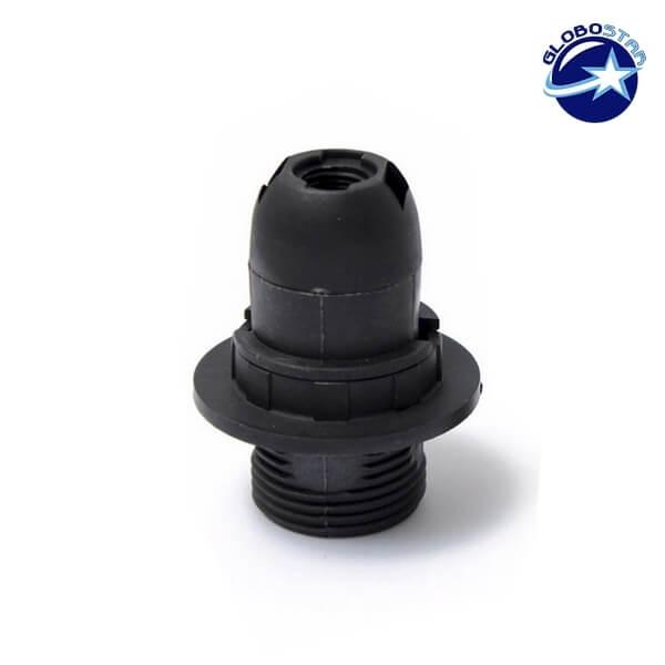 ΣΕΤ Ντουί E14 με Ροδέλα Πλαστικό Μαύρο