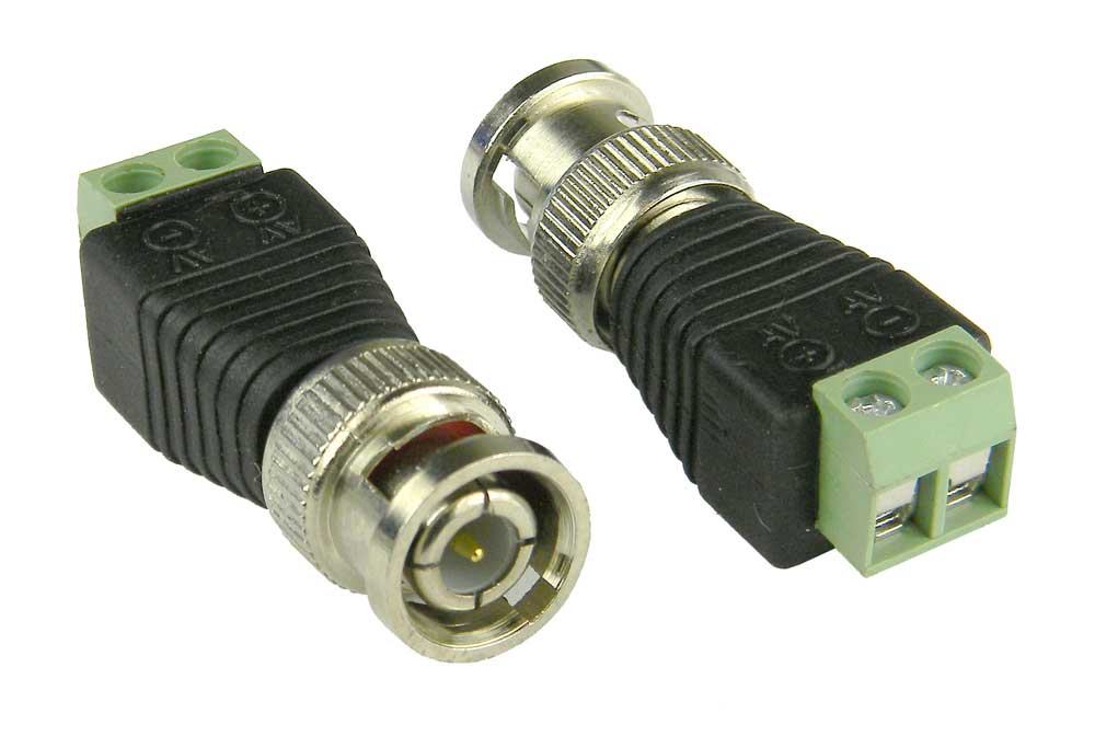 Connector BNC Female Screw Terminal for Security Cameras