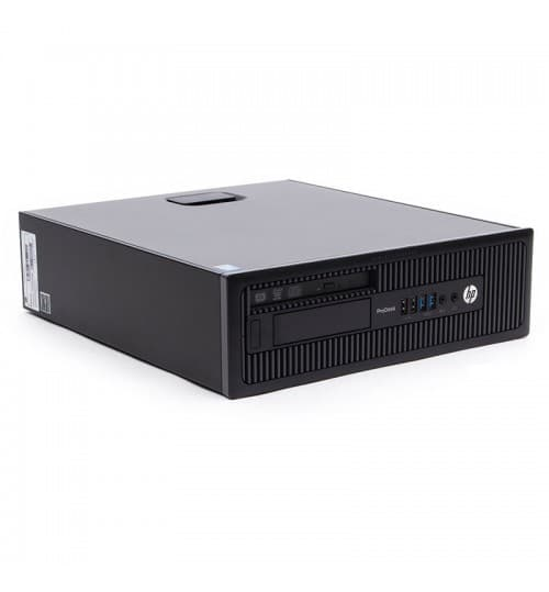 Refurbished PC HP ProDesk 600 G1 SFF Intel i3 3.40GHz με Δίσκο SSD 240GB