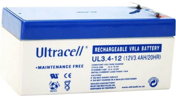 Rechargable Batery 12V 3.4Ah Ultracell