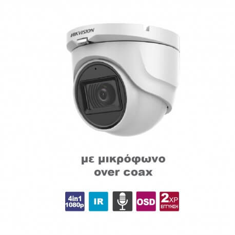 Camera Turret HIKVISION  DS-2CE76D0T-ITMFS2.8 AOC White