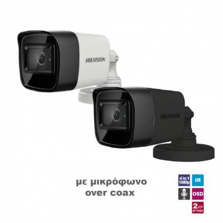 Camera Bullet HIKVISION 1080p DS-2CE76D0T-ITPFS2.8G AOC GREY