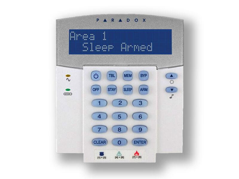Πληκτρολόγιο Ενσύρματο PARADOX K32 LCD