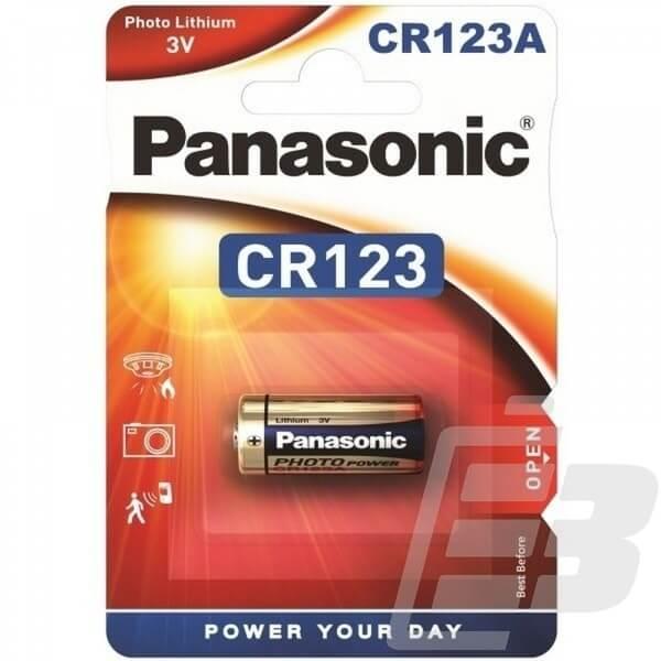 Lithium Battery 3.6 Volt CR123A
