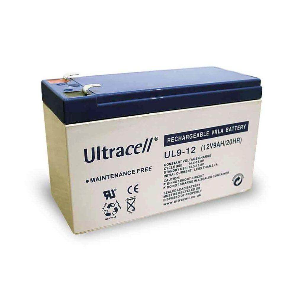 Sealed Lead Acid Battery 12V 9Ah Ultracell