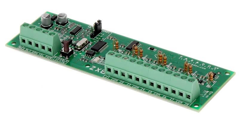 Module επέκτασης BUS 8 ζωνών ZX8 Paradox