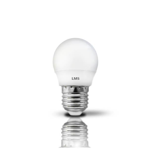 Λαμπτήρας LED 3 Watt E27 Θερμό Λευκό LMS 270 μοίρες