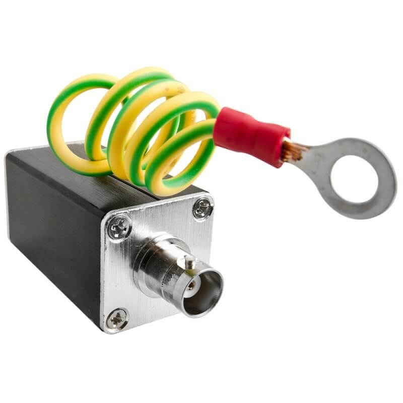 Προστατευτικό υπέρτασης ομοαξονικής σύνδεσης 75Ω  (Αντικεραυνικό) PULSAR P-ZV2