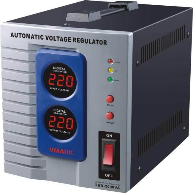 Σταθεροποιητής τάσης τύπου μοτέρ 3000VA με Ψηφιακές ενδείξεις