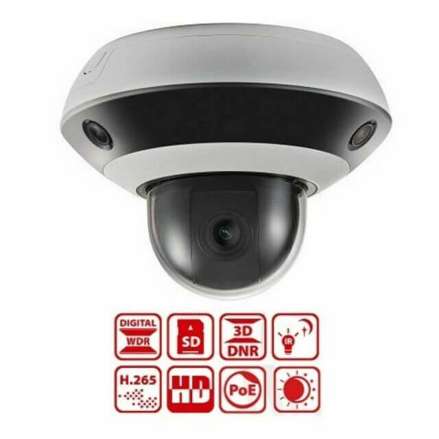 Πανοραμική Δικτυακή Πολυκάμερα Κάμερα Speed Dome HIKVISION DS-2PT3326IZ-DE3 4χ1080p