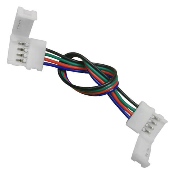 Connector με Καλώδιο για Ταινία LED RGB 7.2 & 14.4 Watt
