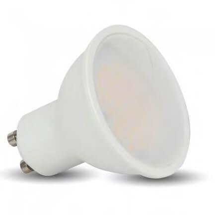 Dimmable LED Σποτ GU10 7 Watt θερμό Λευκό  110 μοίρες V-TAC  VT-2887D