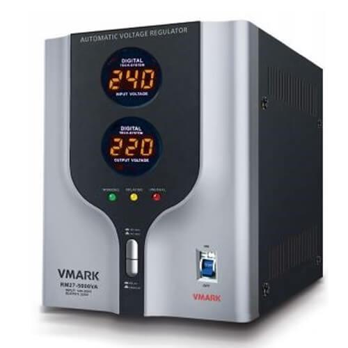 Σταθεροποιητής τάσης τύπου relay 5000 VA RE27