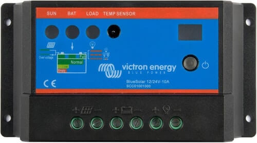 Solar Charger Victron BlueSolar PWM Light 12/24V-10A