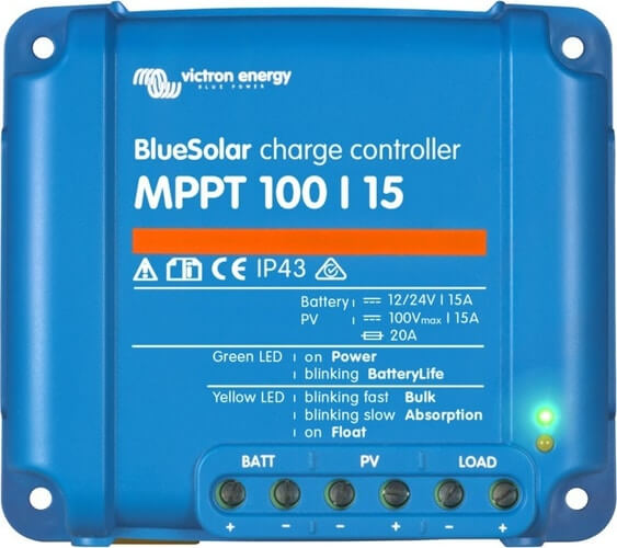 Solar Chager Victron Blue Solar MPPT 100/15