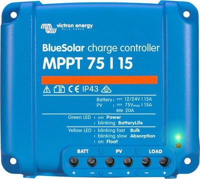 Solar Charger Victron Blue Solar MPPT 75/15