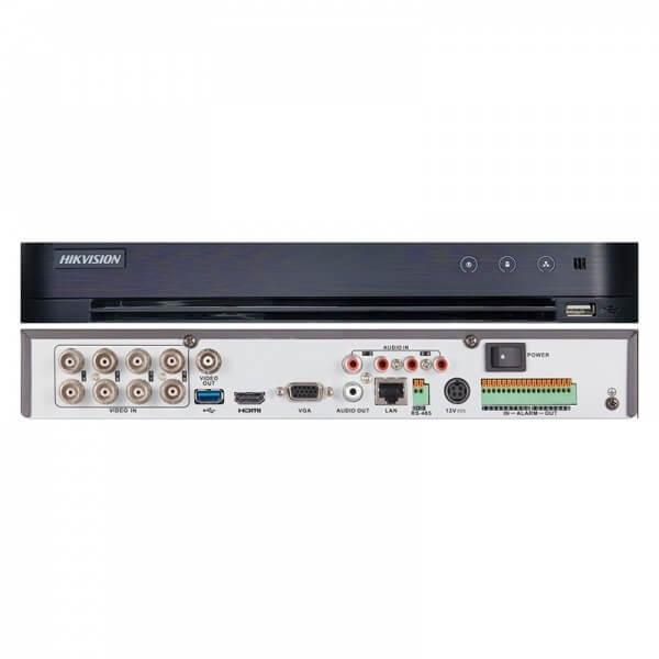 Καταγραφικό DVR HIKVISION TURBO HD 8+4 καμερών 8Mp DS-7208HUHI-K1